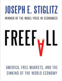 "Copyright by PAP/Photoshot/ Joseph Stiglitz ""Freefall. Free Markets and the Sinking of the Global Economy"", Allen Lane, London, luty 2010"