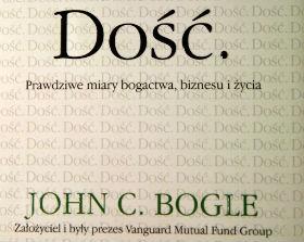 Dość, John C. Bogle, Polskie Towarzystwo Ekonomiczne