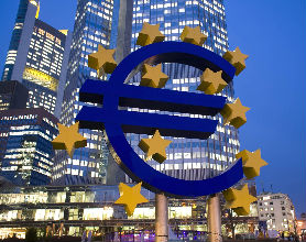 Siedziba Europejskiego Banku Centralnego we Frankfurcie nad Menem (c) PAP/EPA