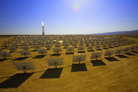 Elektrownia słoneczna fot. Brightsource Energy