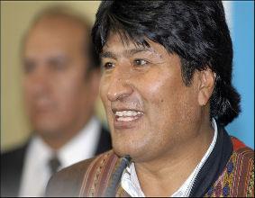 Evo Morales, prezydent Bolivii. (CC By-NC-ND Alain Bachellier)