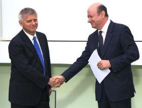 Marek Belka i Jacek Rostowski (fot. NBPtv)