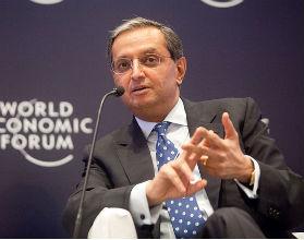 Vikram Pandit, prezes Citigoup, już nie zarabia jednego dolara rocznie. (CC BY-SA World Economic Forum)