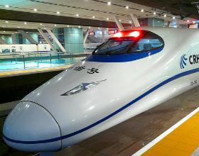 Chiny są oskarżane o kradzież technologii produkcji takich szybkich pociągów. (CC BY-ND sanfamediacom)