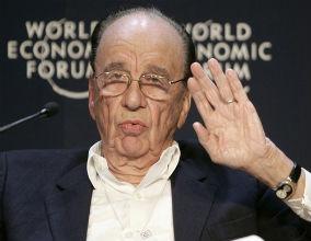 Rupert Murdoch (CC By-SA WEF)
