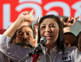 Yingluck Shinawatra, premier Tajlandii. (CC By NC Ratchaprasong2)