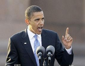 Barack Obama, prezydent USA, nie dostał wsparcia, jakiego potrzebował. (CC By-NC Matt Ortega)