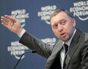 Oleg Deripaska jest jednym z najbogatszych rosyjskich oligarchów, którzy dorobili się fortun dzięki ścisłej współpracy z Kremlem. (CC By-SA World Economic Forum)