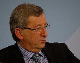 Jean Claude Juncker, szef eurogrupy. (CC BY-NC oaÃ)