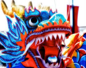 Chińska gospodarka wita w roku Smoka