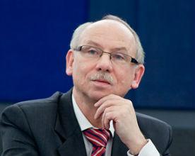 Janusz Lewandowski, komisarz europejski d/s budżetu (CC BY-NC-ND) European Parliament
