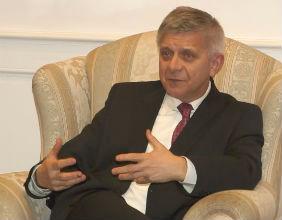 Marek Belka, prezes NBP (Fot. Joanna Olszewska)
