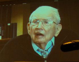 Najstarszy żyjący laureat Nobla z ekonomii, 101-letni Ronald Coase (CC BY-NC-ND k-ideas)