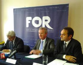 Od lewej: Jerzy Pruski, Wojciech Kwaśniak, Piotr Piłat. Fot. OF