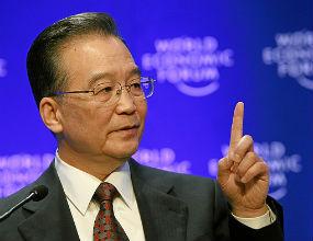Wen Jiabao, premier Chin, wkrótce odda stanowisko następcy, który będzie miał przed sobą kolejną reformę kraju. (CC By-SA World Economic Forum)