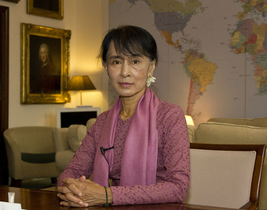Aung San Suu Kyi (CC By-NC-ND DFID)