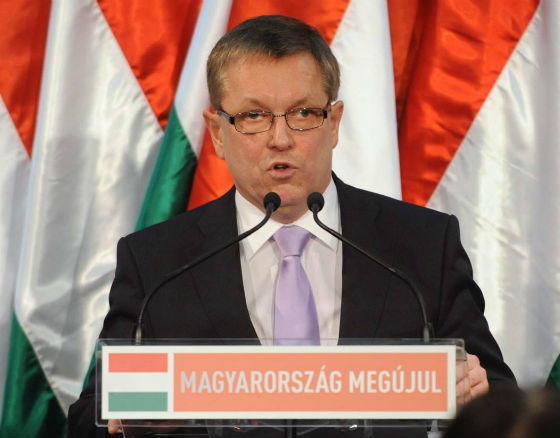György Matolcsy, minister gospodarki Węgier (fot. PAP)