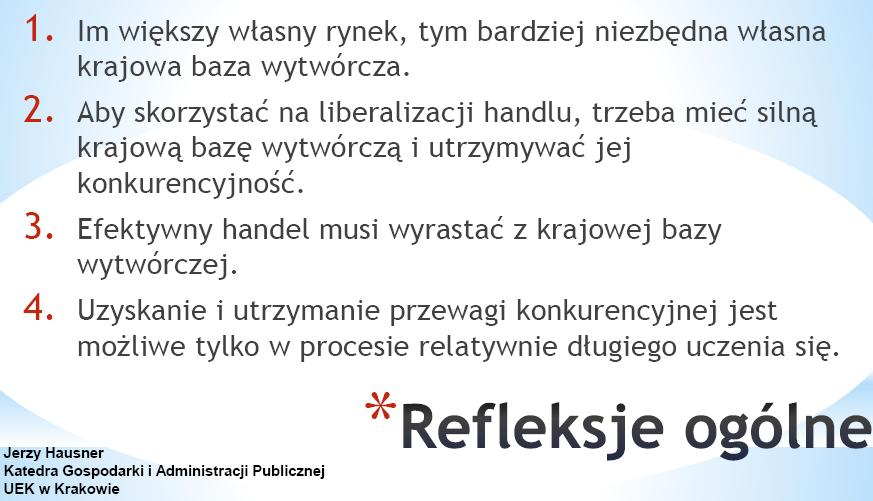 prof. Jerzy Hausner, współautor raportu, a także członek RPP. (Fot. M. Pielach)