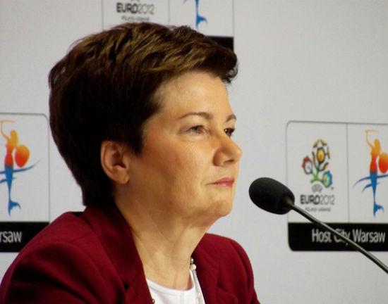 Hanna Gronkiewicz - Waltz, prezydent Warszawy. (CC BY DrabikPany)