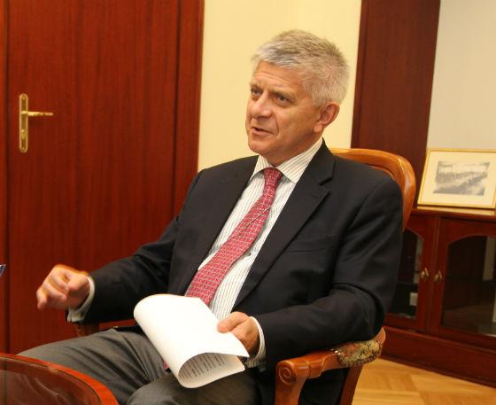Belka: Ważne, aby nie tylko wejść, ale i utrzymać się w strefie euro