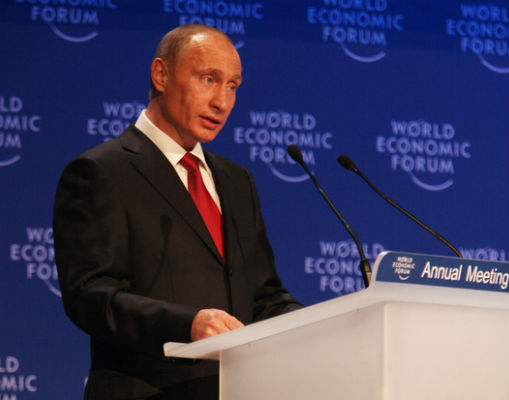 Władimir Putin (CC BY-NC-SA World Economic Forum)