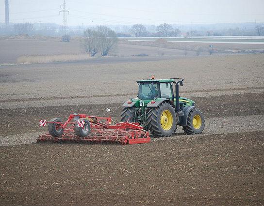 Rolnik w polu, ale rzadko na rynku