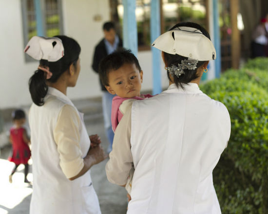 Szpital w Indiach (CC By-SA jakfotoproductions)