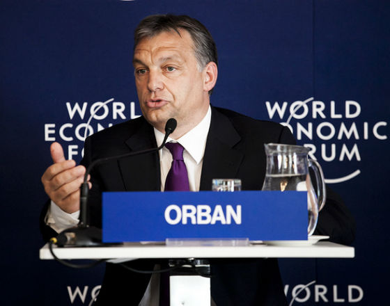 Viktor Orban (CC By NC SA World Economic Forum)