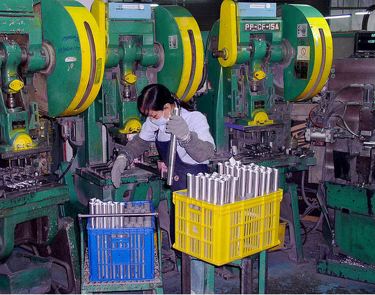 Od fabryk rowerów do fabryk paneli LCD - to efekt pracy tajwańskiego Biura Rozwoju Przemysłu (CC BY-NC-SA Bert van Dijk)