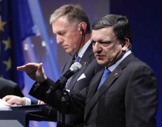 José Manuel Barroso ogłosił, że jest zgoda polityczna na unijny budżet (CCBy NC ND London Summit)