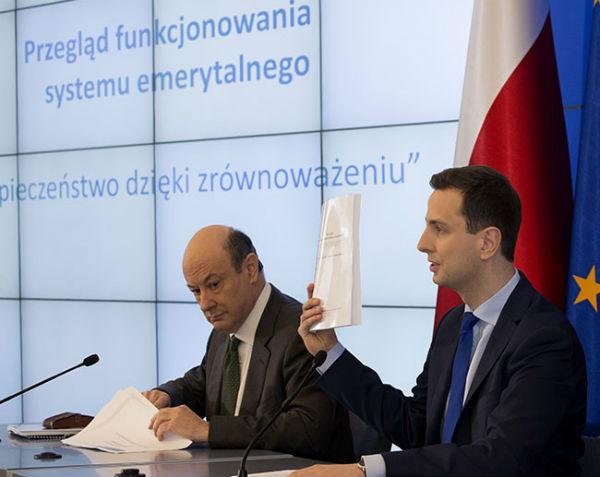 Minister finansów Jacek Rostowski i minister pracy Władysław Kosiniak - Kamysz. (CC By NC ND Kancelaria Premiera)