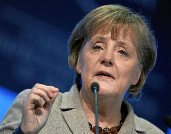 Merkel jest jak gospodyni domowa