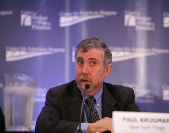 Paul Krugman *CC BY-ND Center for American Progress)