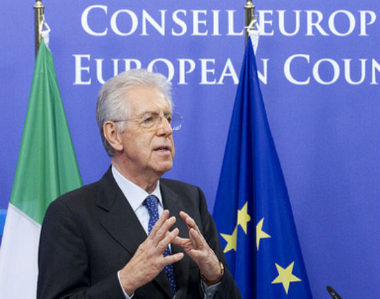 Mario Monti (CC BY-NC-ND President of the European Council)