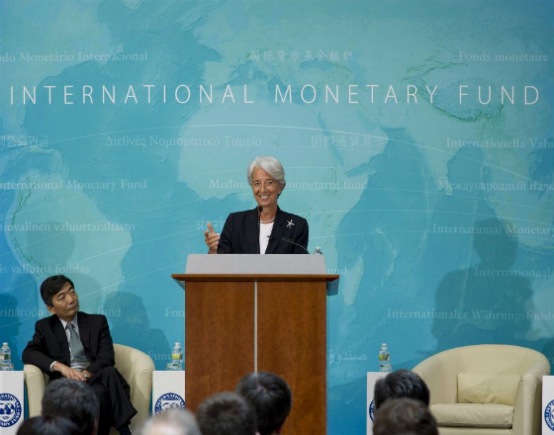 Analitycy Christine Lagarde, która kieruje MFW, doradzają fiskusowi jak opodatkować bogatych. (CC By IMF)