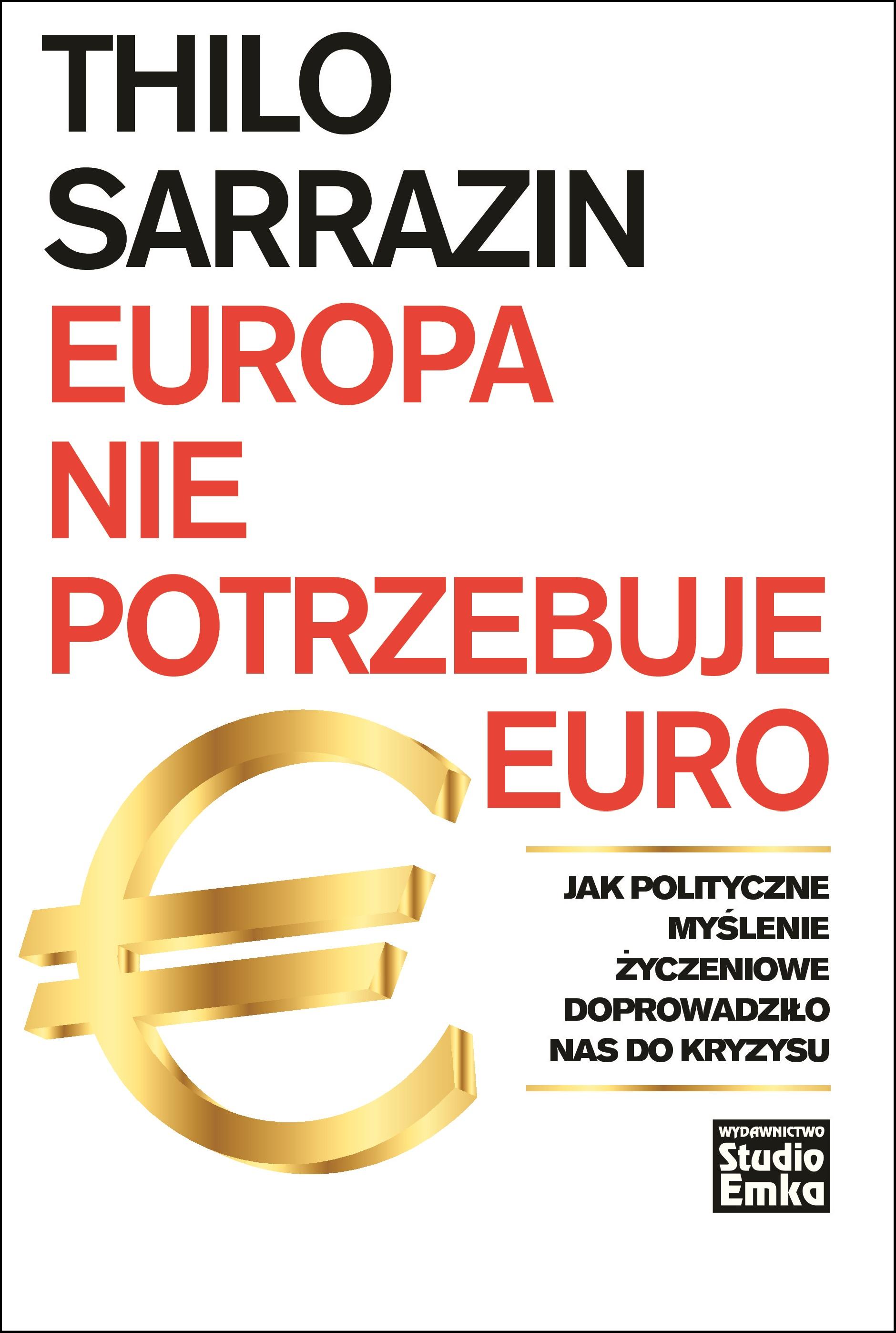 okladka Europa nie potrzebuje euro