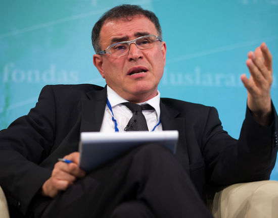 Nouriel Roubini (CC BY-NC-ND Intenational Monetary Fund)