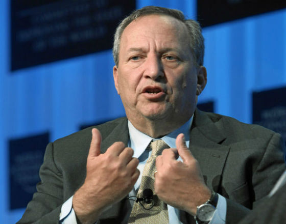 Lawrence Summers (CC BY NC SA World Economic Forum)