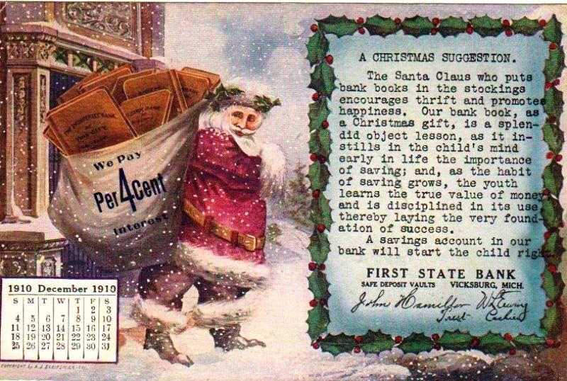 Mikołaj z workiem pełnym kredytów
