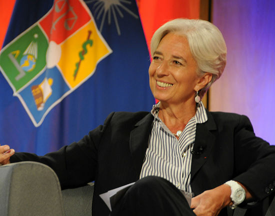 Christine Lagarde (CC BY-NC-ND International Monetary Fund )