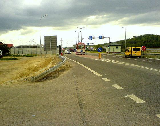 Przejście graniczne w Hrebennem (zdjęcie z domeny publicznej)