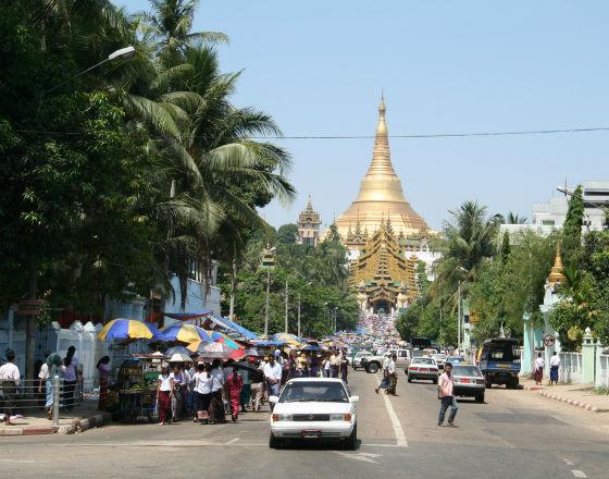 Bankomaty w Szwedagon