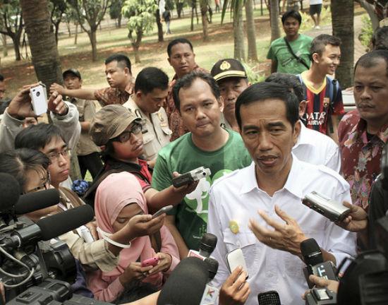 Joko Widodo, kandydat na prezydenta Indonezji (CC BY-NC-ND Eduardo M.C.)