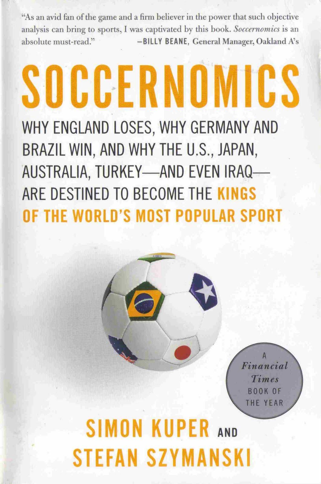 Soccernomics - okladka
