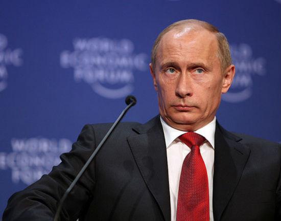 Władimir Putin, prezydent Rosji (CC BY-NC World Economic Forum)