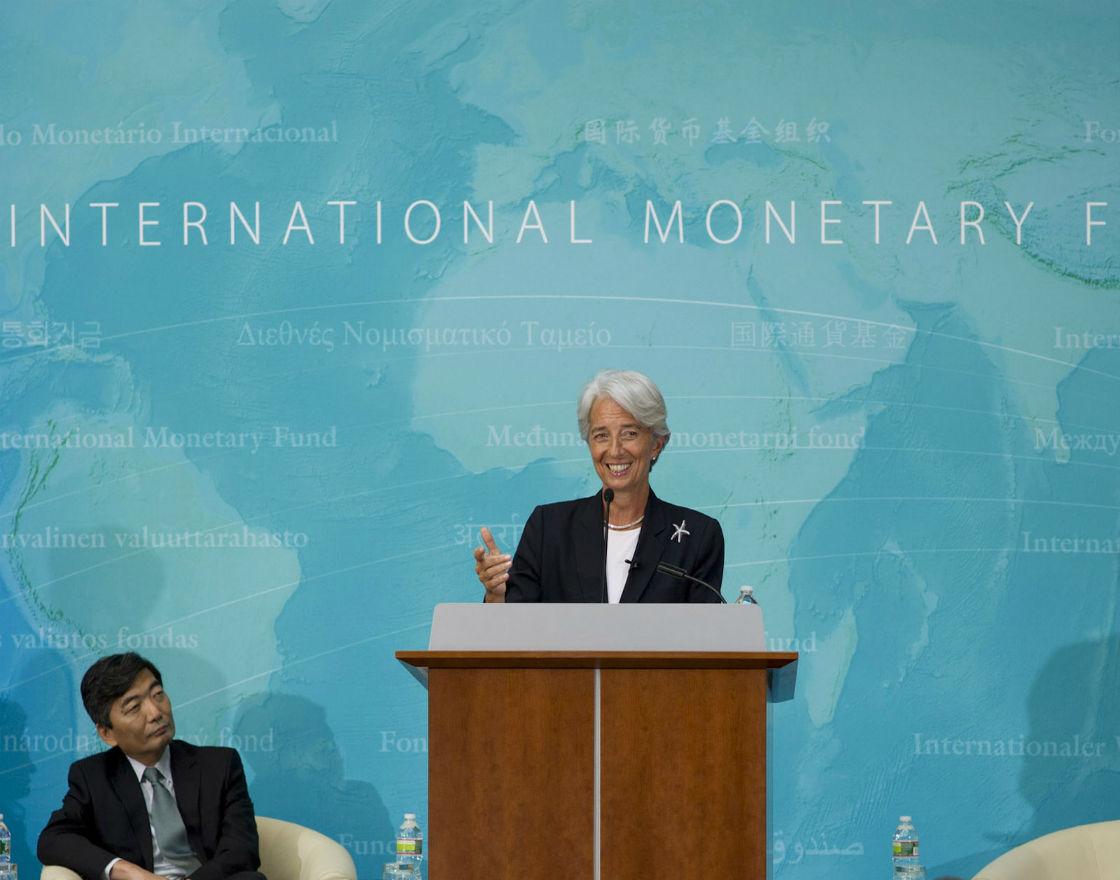 Jak długo rynki będą się powstrzymywać przed zakwestionowaniem statusu MFW, którym zarządza Christine Lagarde, jako uprzywilejowanego wierzyciela? (CC By NC ND International Monetary Fund)