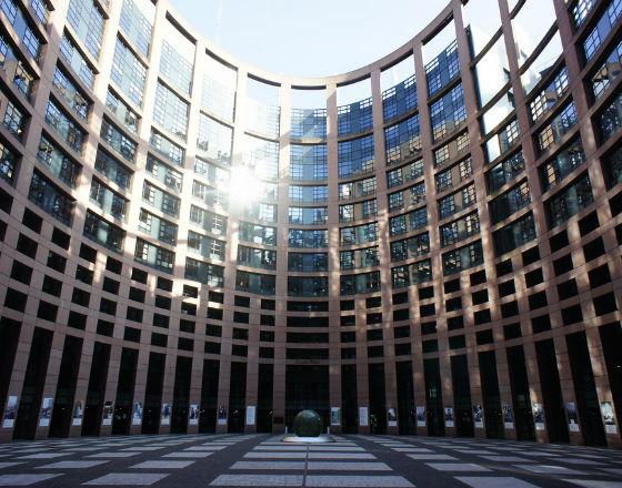 Parlament Europejski w Strasburgu (CC BY-NC-SA Strasbourg European Parliament)