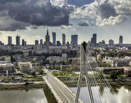 Panorama Warszawa fot. Shutterstock/marchello74