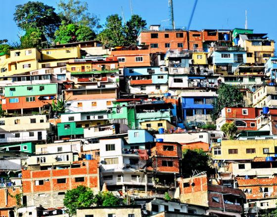 Wolna amerykanka na ulicach Caracas