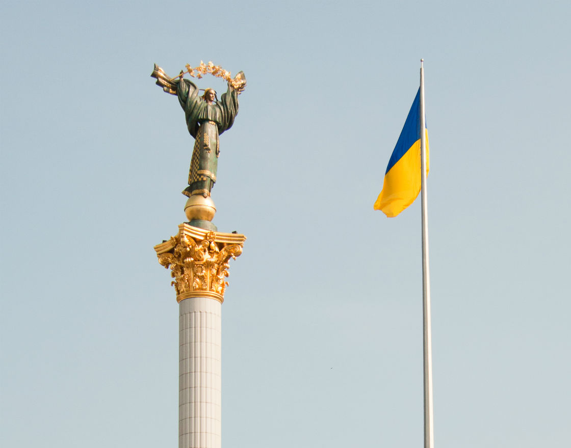 Kijów, Majdan (CC By ND Aleksander Saprykin)